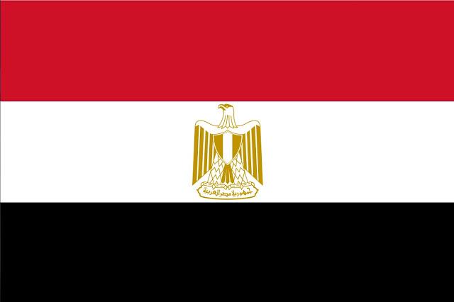 Veja todos os elementos da bandeira egípcia: cores e a águia-de-saladino