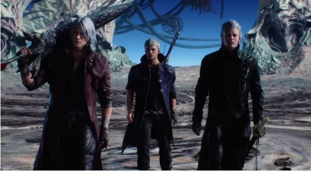 Devil May Cry 5 Story Neo,Danta and Virgin