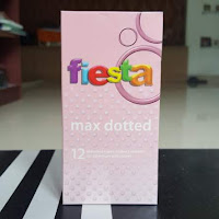 Kondom Fiesta Max Dotted Isi 12