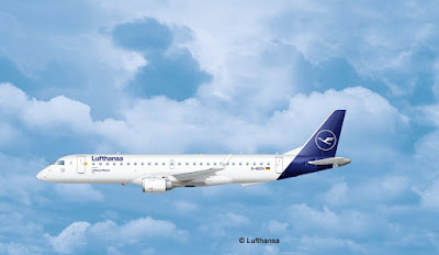 "Embraer 190 Lufthansa ""New Livery"" picture 3"