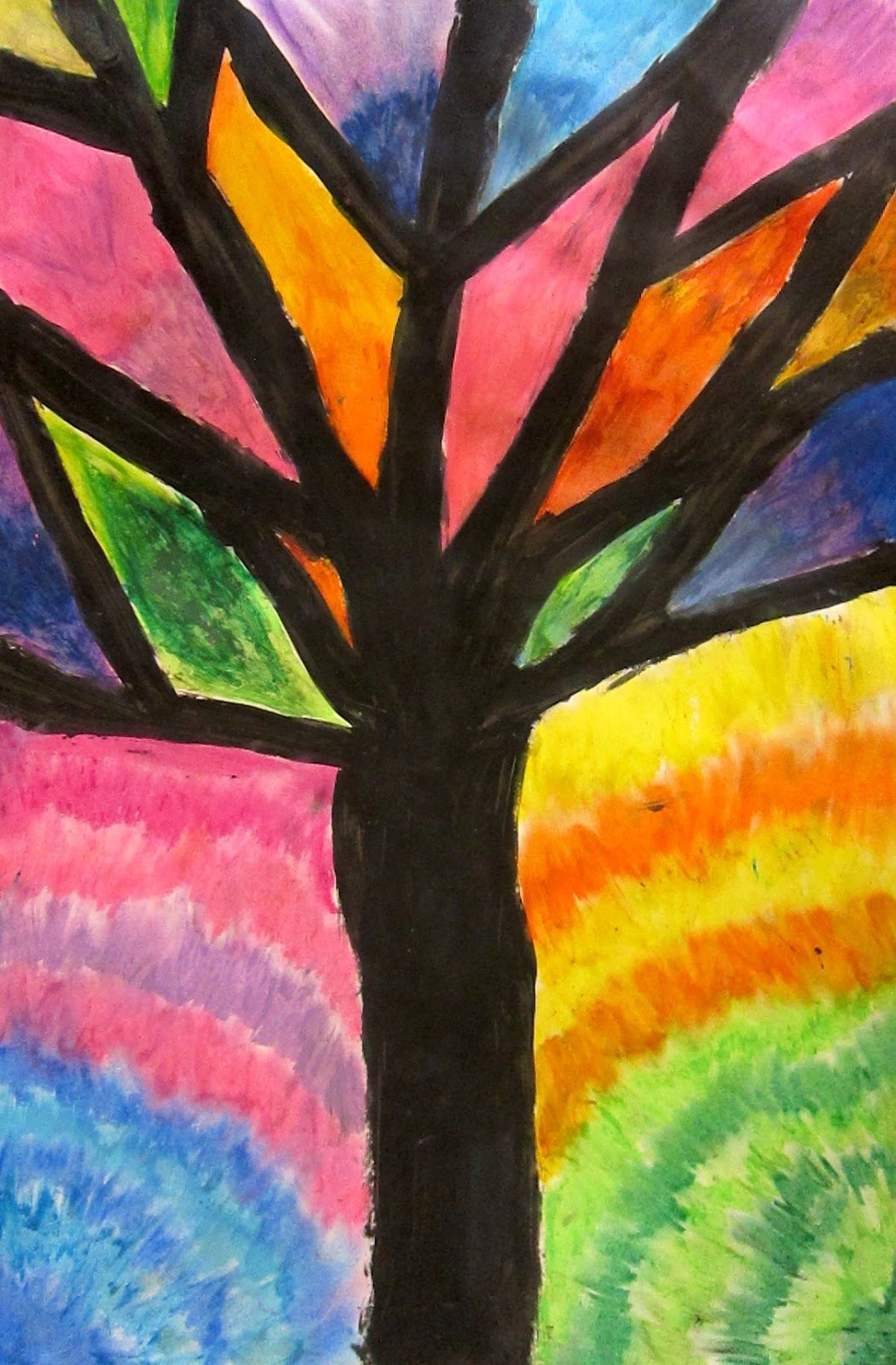 How To Paint With Oil Pastels Videos
