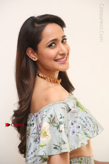 Actress Pragya Jaiswal Stills in Floral Dress at turodu Interview  0049.JPG