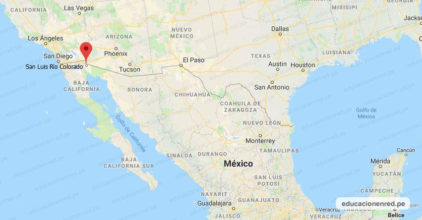Temblor en México de Magnitud 4.8 (Hoy Miércoles 31 Marzo 2021) Sismo - Epicentro - San Luis Río Colorado - Sonora - SON. - SSN - www.ssn.unam.mx