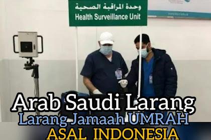 Arab Saudi Larangan Jamaah Umro Indonesia