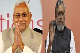 बिहार के मुख्यमंत्री नीतीश कुमार और डिप्टी सीएम सुशील कुमार मोदी ने लोगों से की जनता कर्फ्यू के पालन की अपील