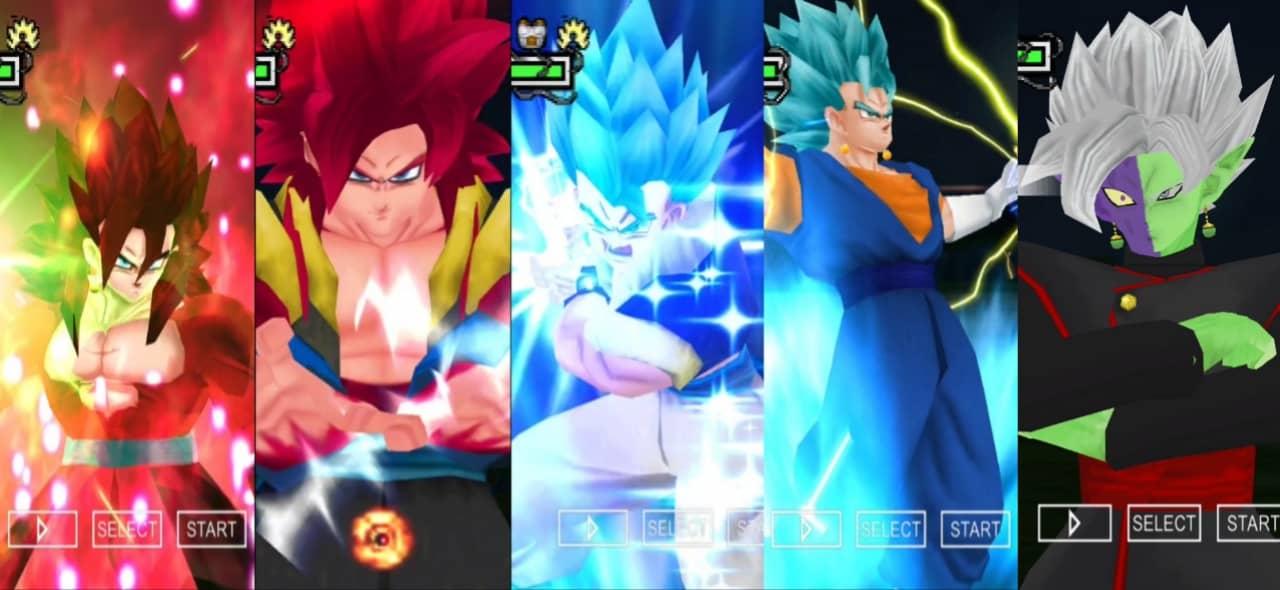 Super Dragon Ball Heroes Gogeta and Vegito Blue