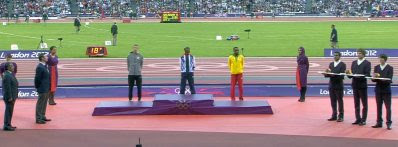 Olympics 2012: The medal ceremony
