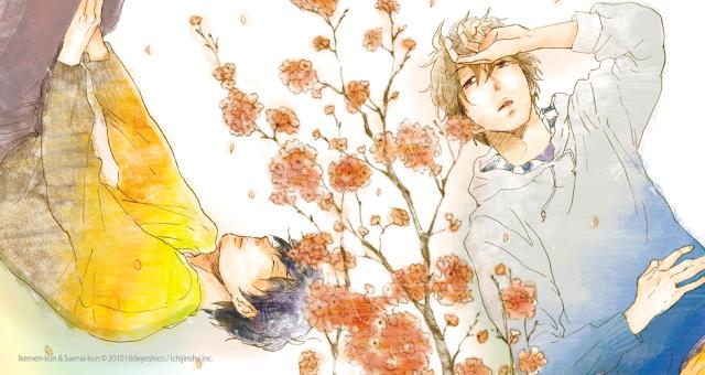 Ikemen-kun & Saenai-kun, de Hideyoshico