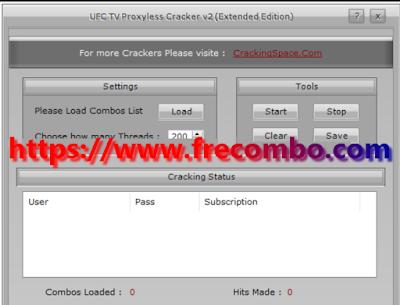 UFC TV Proxyless Cracker V2 (Extended Edition)