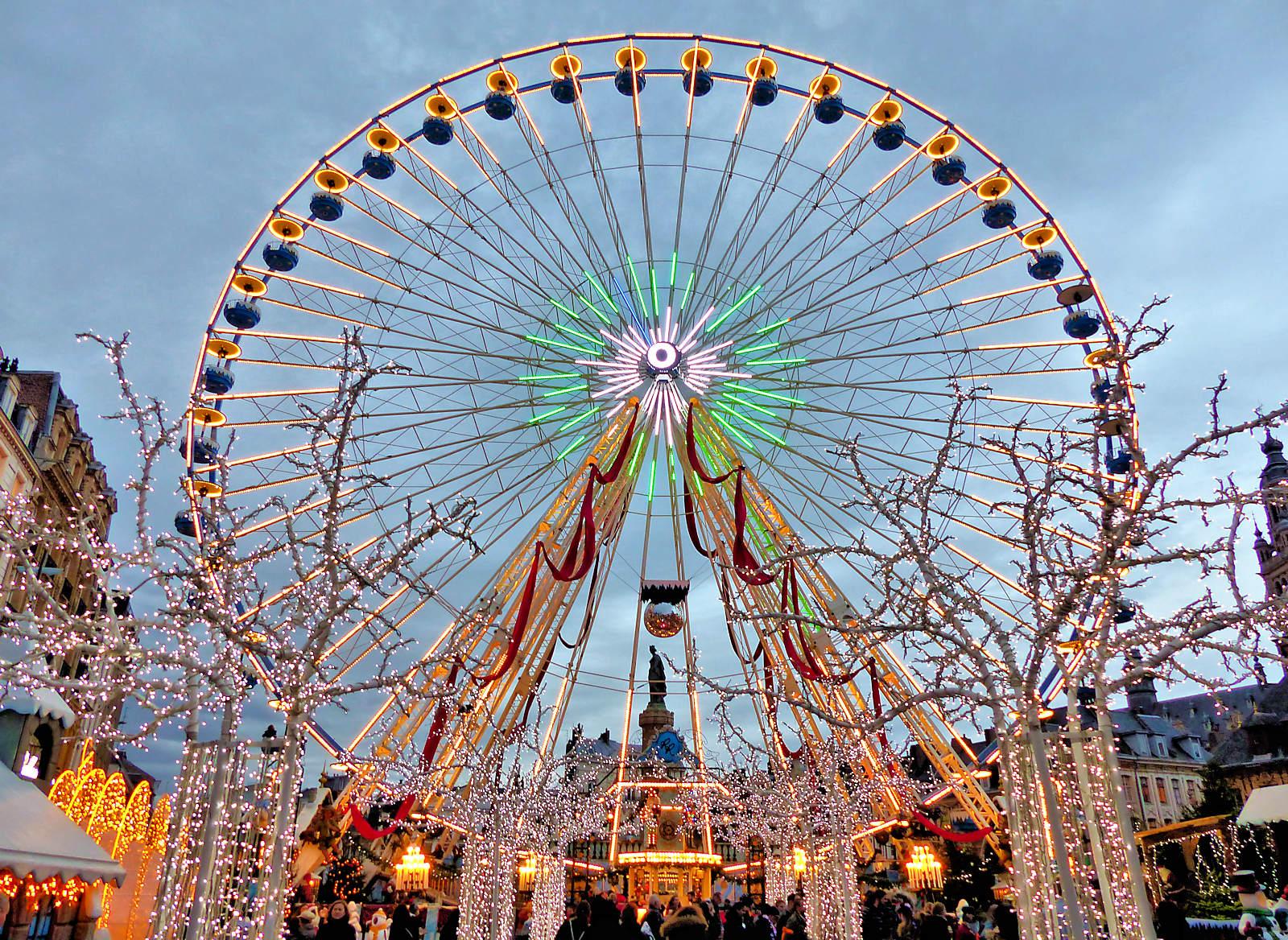 Grand'Place Lille Noël 2019 - Grande Roue