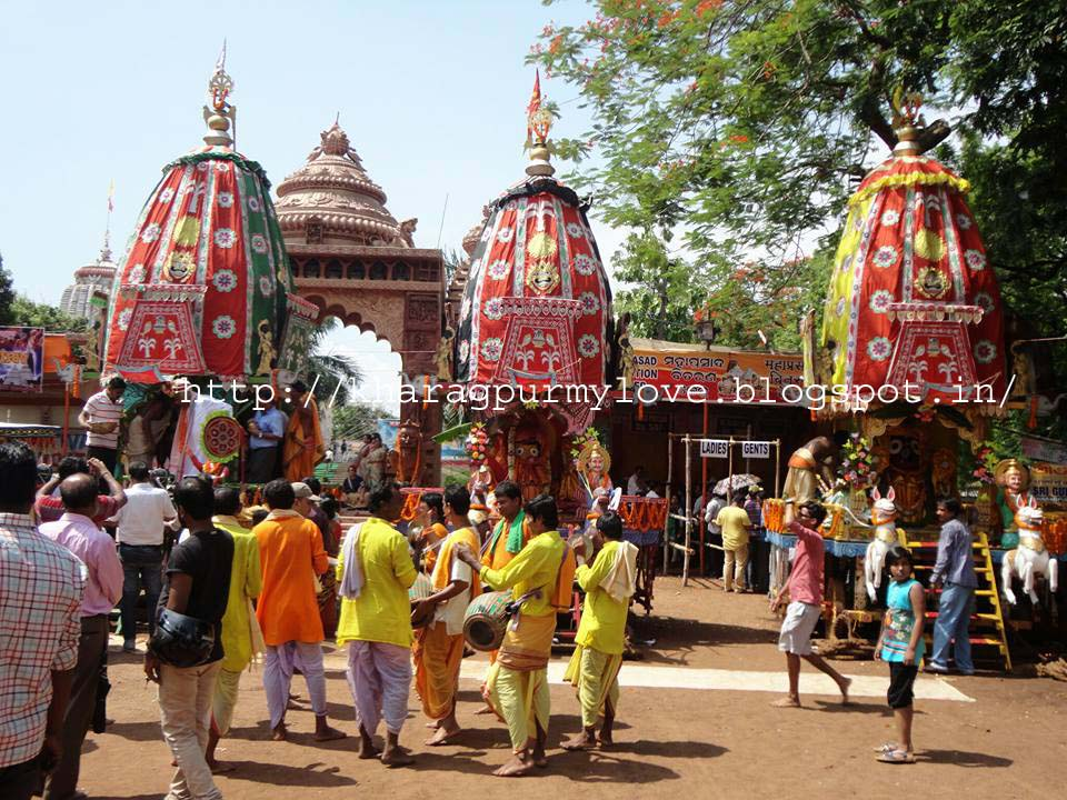 jagannath rath yatra Ratha yatra also referred to as rathayatra, rathajatra or chariot festival is any  public procession in a.