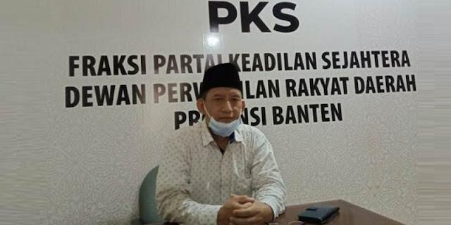 Sesali Pemecatan 4 Eks Pejabat Dinkes Banten, Fraksi PKS: Ini Tindakan Zalim!