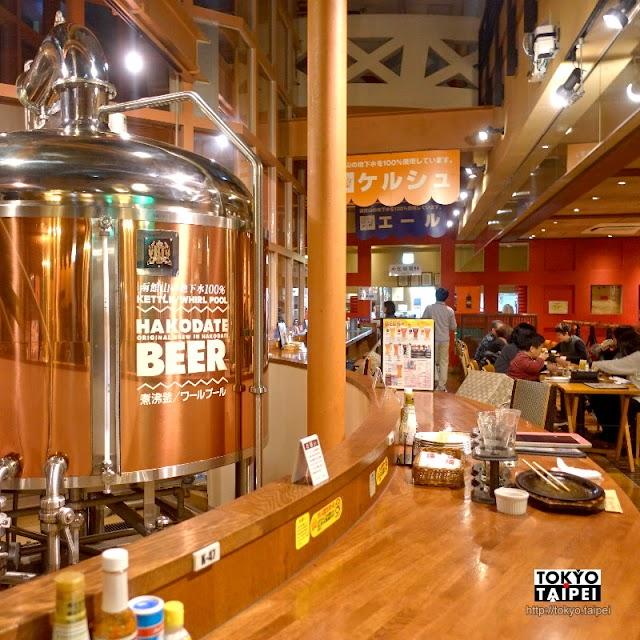 【HAKODATE BEER】函館山地下水釀造 大口吃羊肉配在地新鮮清爽啤酒