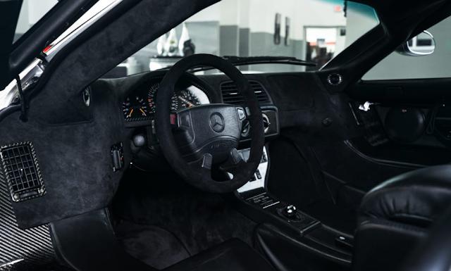 2018 Mercedes CLK GTR A True Supercar Unicorn Interior