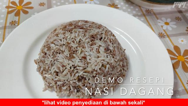 Resepi Nasi Dagang Kelantan Mudah dan Sedap