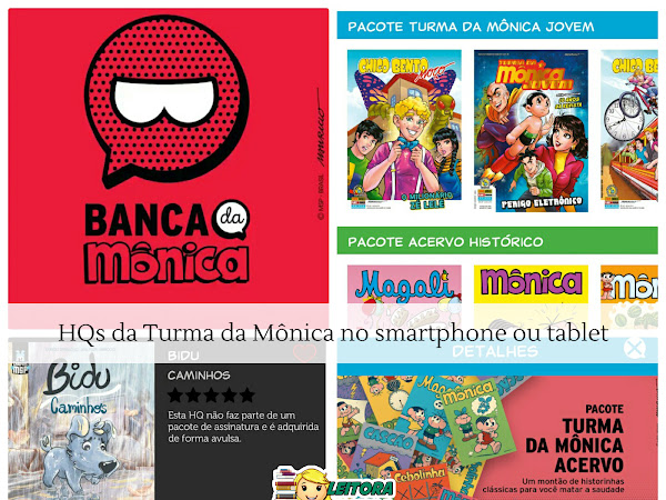 Banca da Mônica: os gibis da Turma da Mônica no smartphone ou tablet