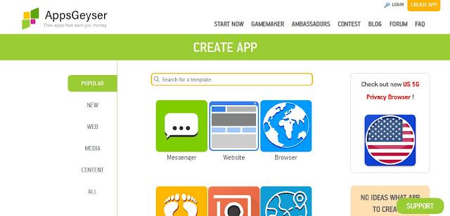 Cara Mudah Membuat APK Android Dengan Menggunakan AppsGeyser