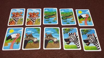 ジョーの動物園 動物カード裏面
