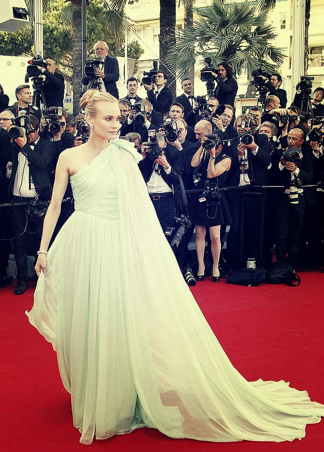 Diane Kruger in Giambattista Valli Gowns