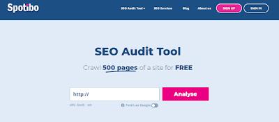 Spotibo audit tool