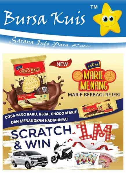 Kuis Online Terbaru Berhadiah Mobil Scratch And Win Regal Marie Biscuits