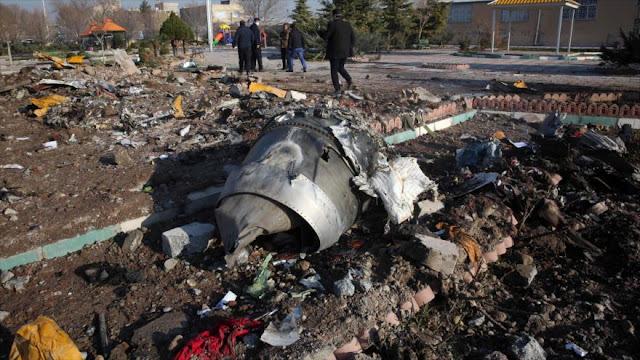 """Irán refuta """"rumores ilógicos"""" sobre derribo del avión ucraniano"""