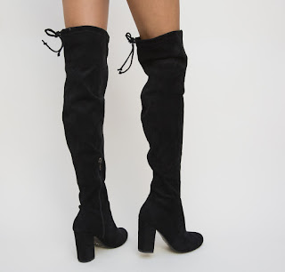 Cizme Nevada Negre la moda ieftine
