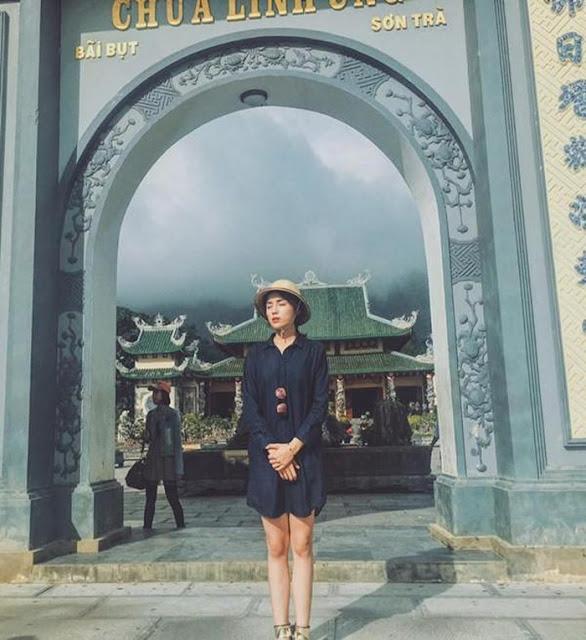 Sao Việt bị 'ném đá' vì ăn mặc phản cảm đi lễ chùa