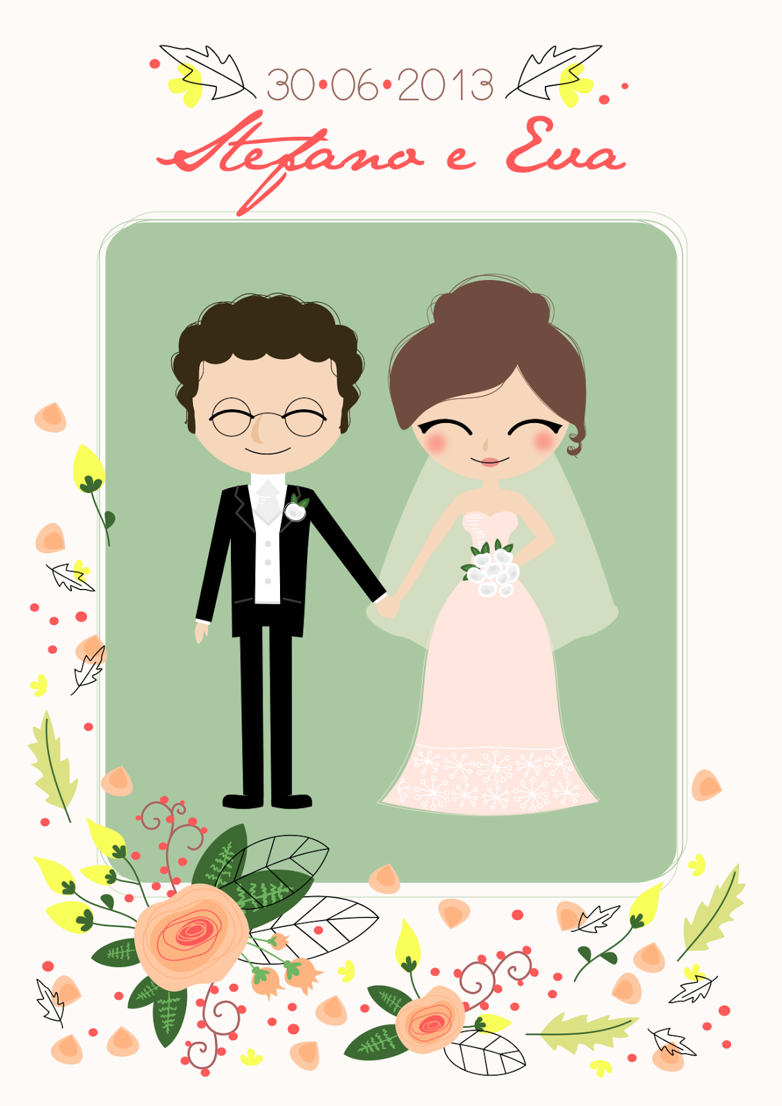12 Anniversario Matrimonio.Cestino Di Mirtilli Grafica Per Un Anniversario Di Nozze