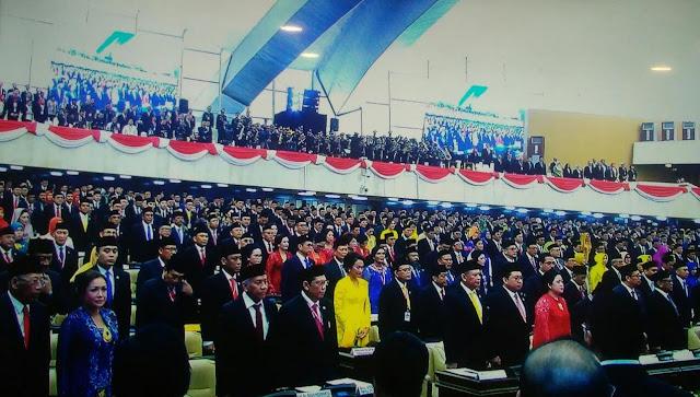 575 Anggota DPR Periode 2019-2024 Hari Ini Resmi Dilantik