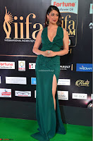 Laxmi Rai in a Deep neck Beautiful Green Gown Cute Actress Laxmi Rai ~  010.JPG