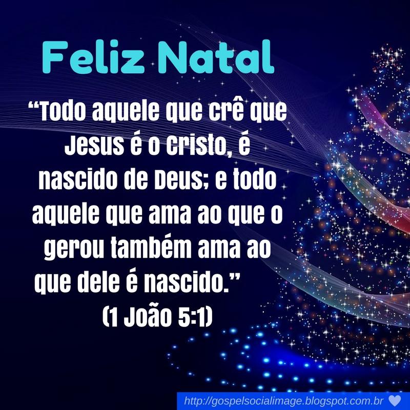 Imagens com mensagens de natal evangélicas
