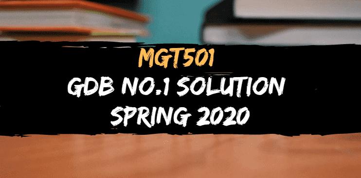 mgt501