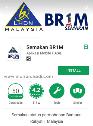 Aplikasi Mobile BR1M