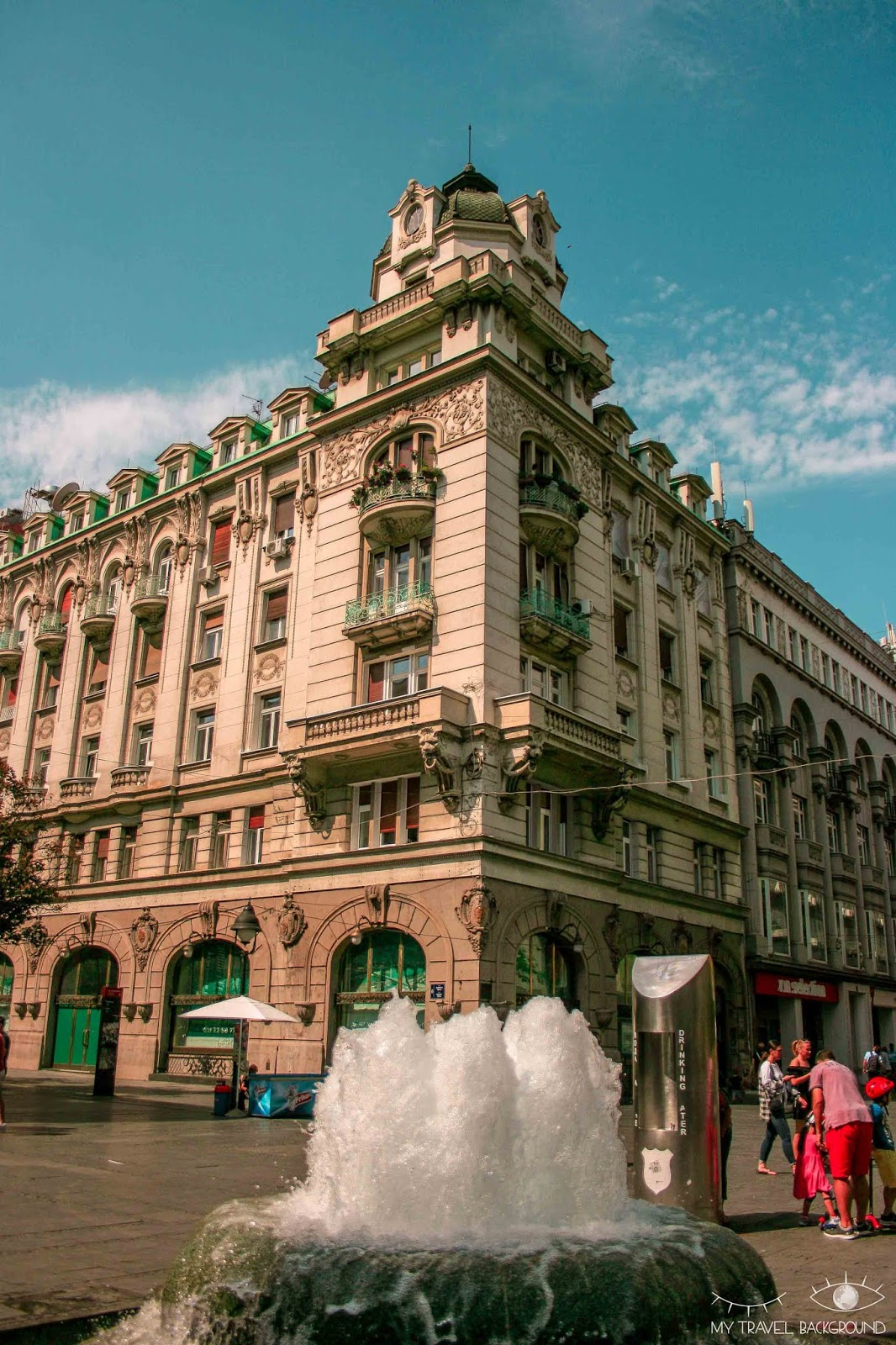 My Travel Background : 1 jour pour visiter Belgrade, la capitale de la Serbie - Knez Mihailova, rue du Prince Michel