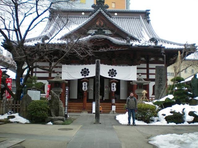 Templo en Nagano