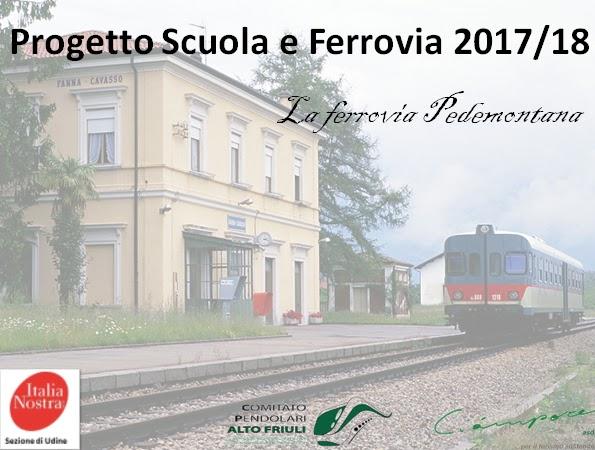 """E  stato presentato oggi nel corso di una conferenza stampa svolta a Udine  nella sede della Regione, il """"Progetto Scuola e ferrovia 2017 2018"""". af39210c57"""