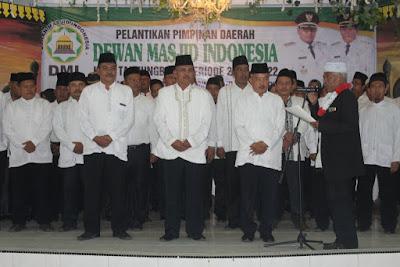 Kakankemenag Tanjungbalai Hadiri Pelantikan PD DMI Kota Tanjungbalai Periode 2017-2022