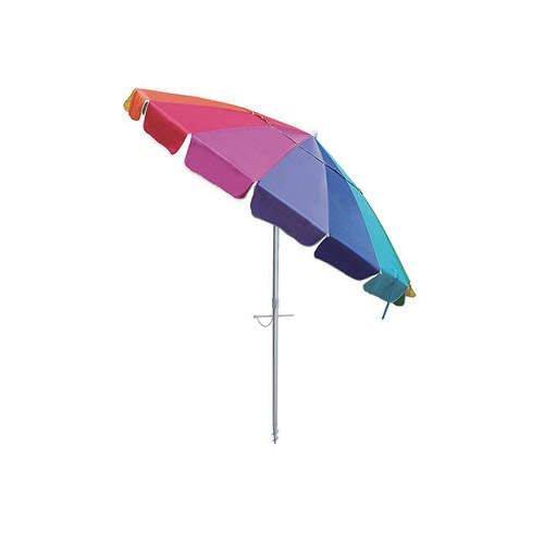 Rainbow Multicolor Beach Umbrella2017
