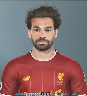 PES 2019 Faces Mohamed Salah by Shenawy