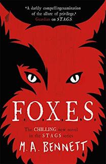 FOXES by MA Bennett cover