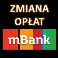 Zmiana opłat i prowizji w mBanku od 1.03.2021 roku