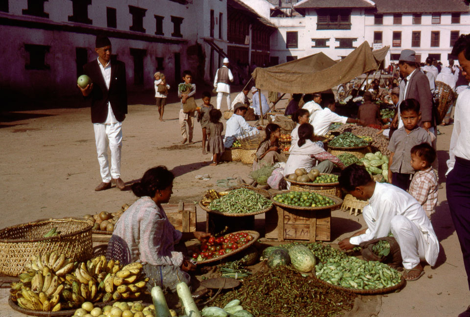 old picture of kathmandu