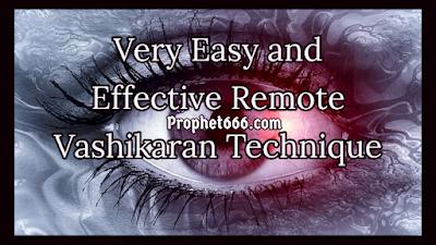 Remote Love Spell Technique