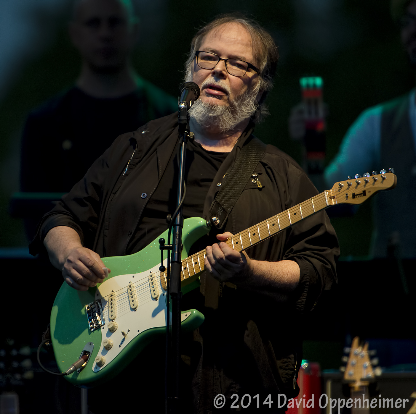 Walter Becker with Steely Dan