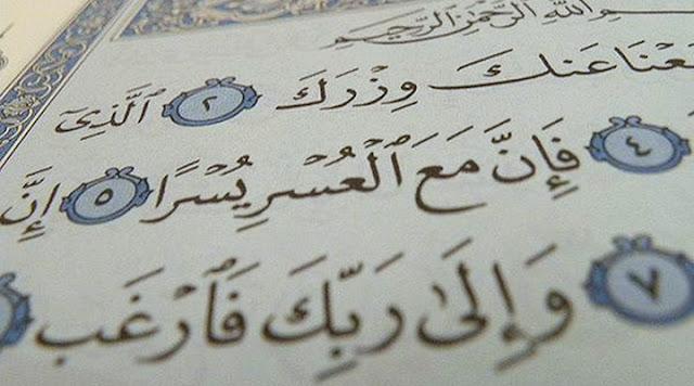 Ingin Dimudahkan Hidup dan Dilapangkan Rezeki, Bacalah Surah Al Insyirah Usai Sholat 5 Waktu