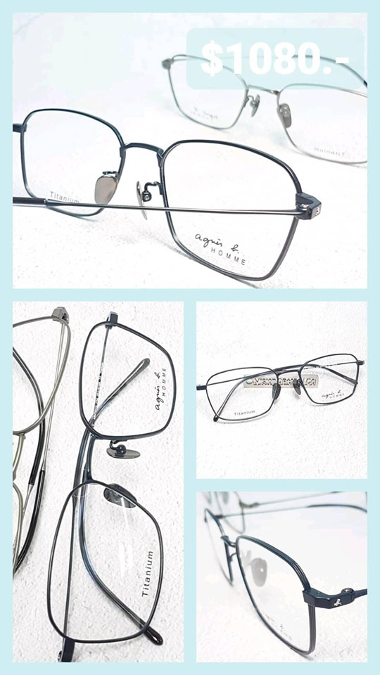 agnes b. HOMME eyewear