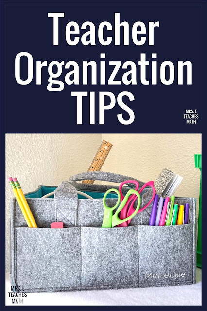 These teacher organization ideas are the perfect hacks for your middle or high school classroom! If you want to organize your classroom, check out these tips so you can focus on lesson plans and classroom management.