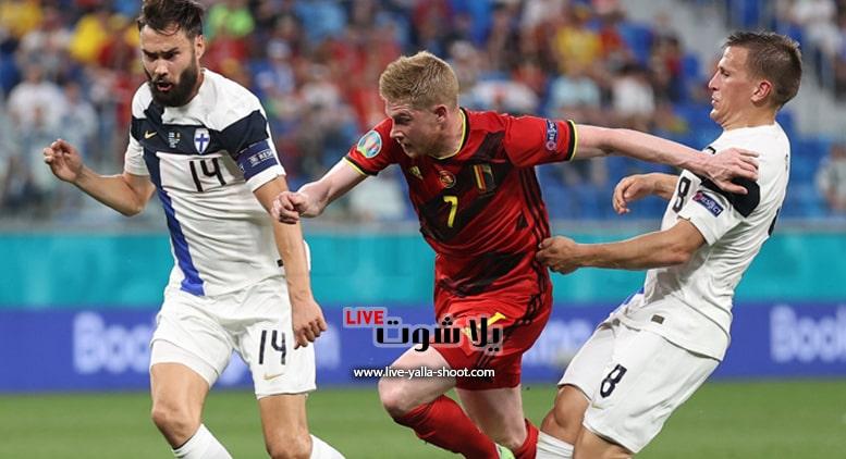 بلجيكا وفنلندا