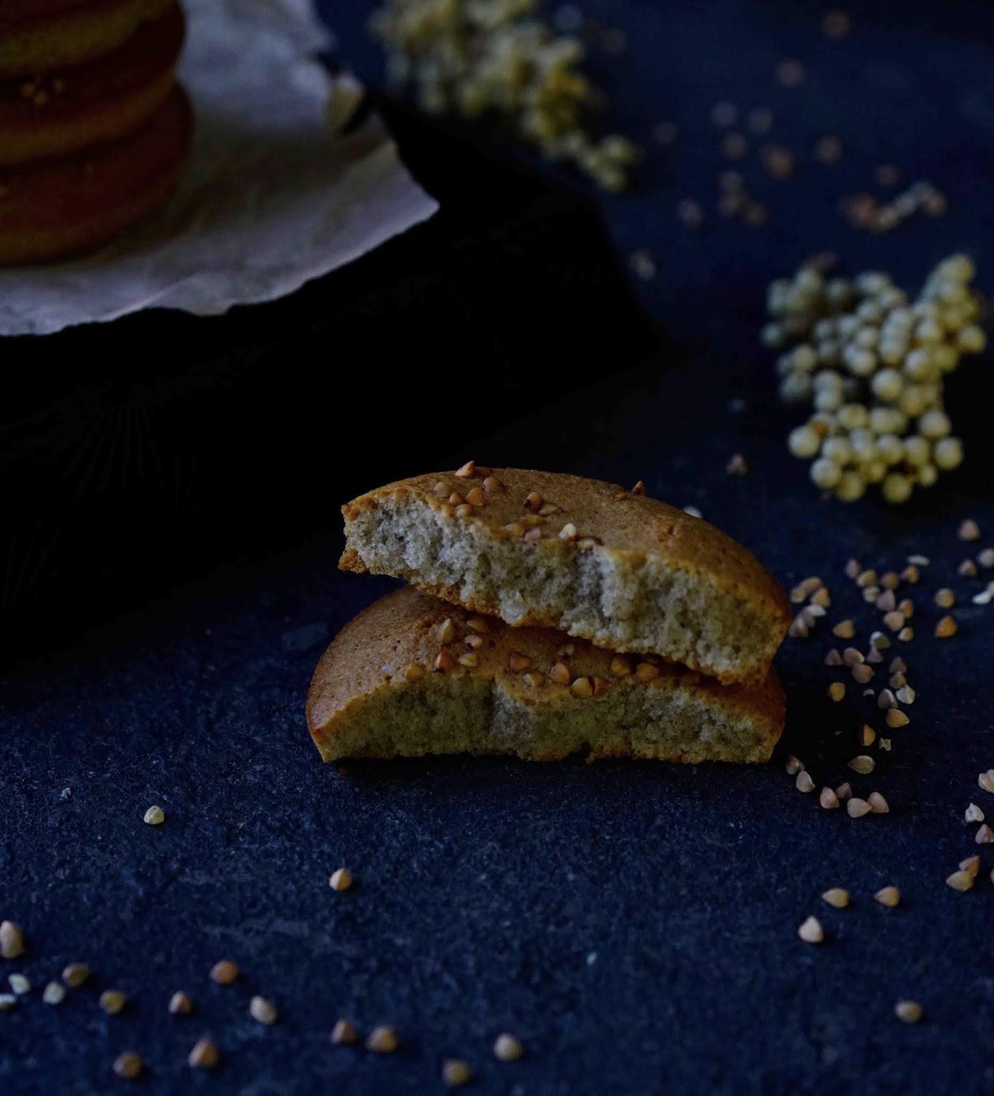 gâteau moelleux sans gluten , financier , dessert d'hiver